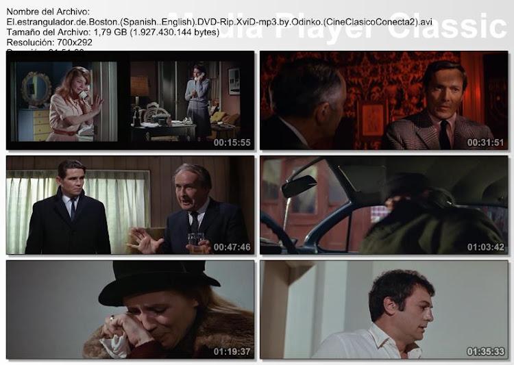 El estrangulador de Boston | 1968 | Secuencias de la película