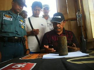 Gali Lobang, Pekerja Bangunan Temukan Mortir