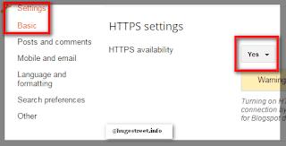 turn on HTTPS on blogger blogspot free, enable https for blogger blogspot free , http to https, free ssl certifiacate