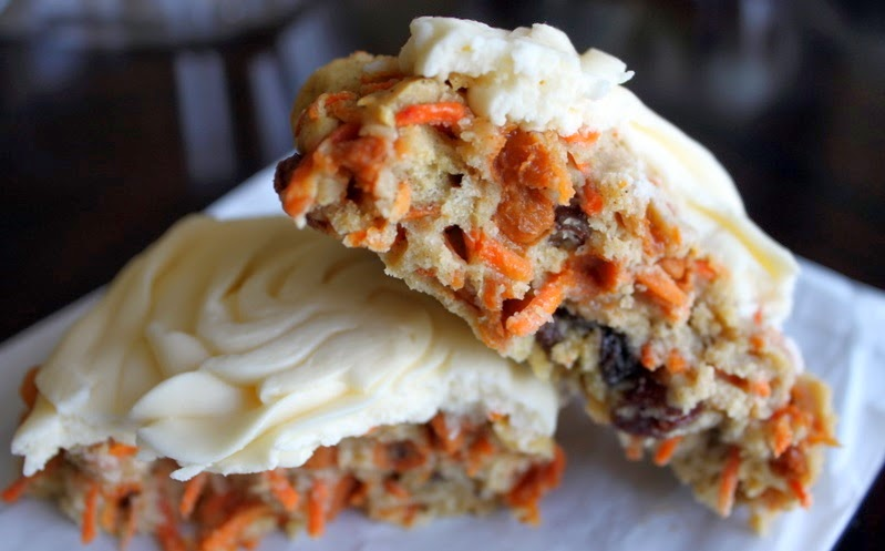 GlutenAway: Extremely Easy Gluten Free Carrot Cake Cookies