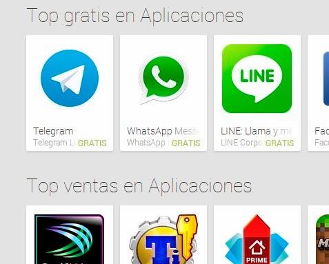 Las aplicaciones Android más descargadas en febrero 2014