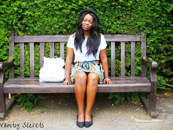 FASHION| GEEK GLASSES AND A COLOURFUL SKIRT FEATURING ASOS,PRIMARK AND WAREHOUSE