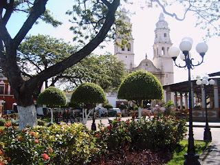 paysages du Mexique Campeche Yucatan cathedrale blog voyage photo