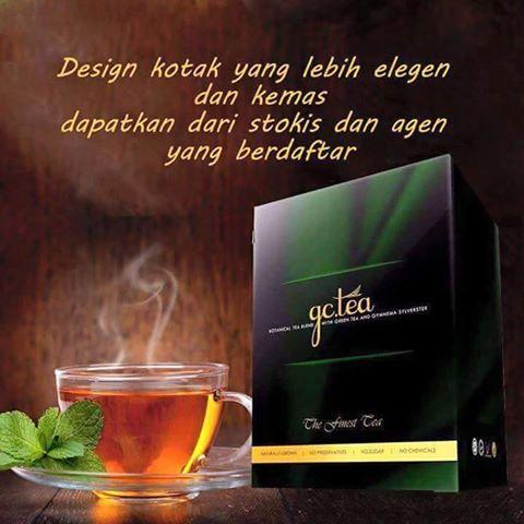 GLUCOS CUT TEA (GC TEA) | PEMBEKAL PRODUK KECANTIKAN MURAH
