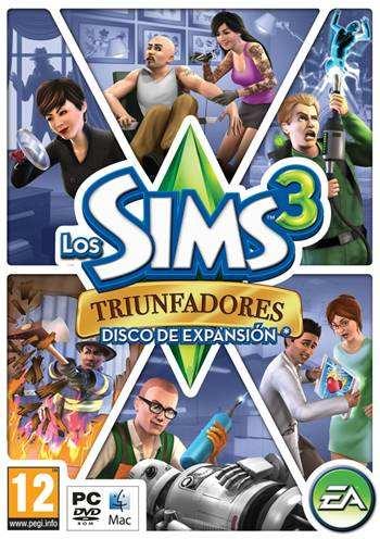 Los Sims%25E2%2584%25A23 Triunfadores Portada Descargar Los Sims 3 Todas Las Expansiones PC Full Espaol ISO Gratis