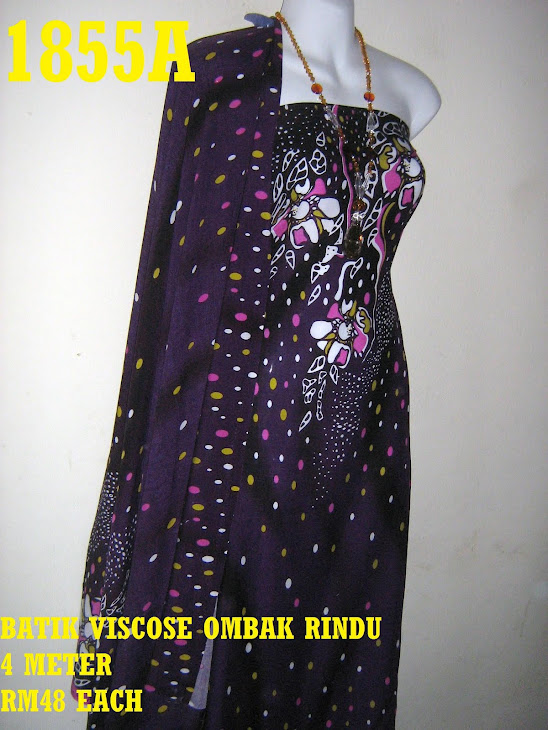 BV 1855A: BATIK VISCOSE EXCLUSIVE OMBAK RINDU, 4 METER