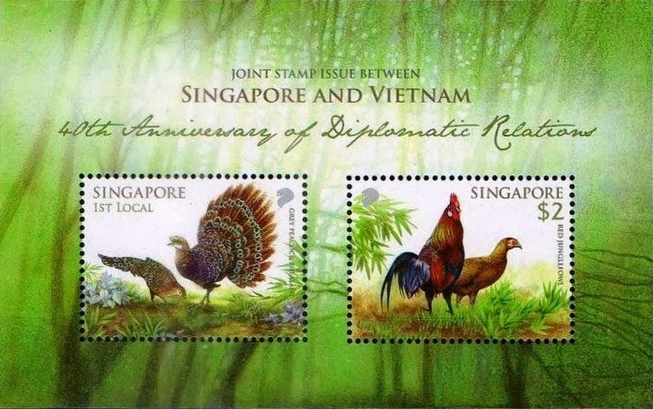 Singapore-Vietnam Joint Issue - Miniature Sheet