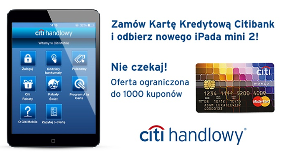 IPad W Citibanku