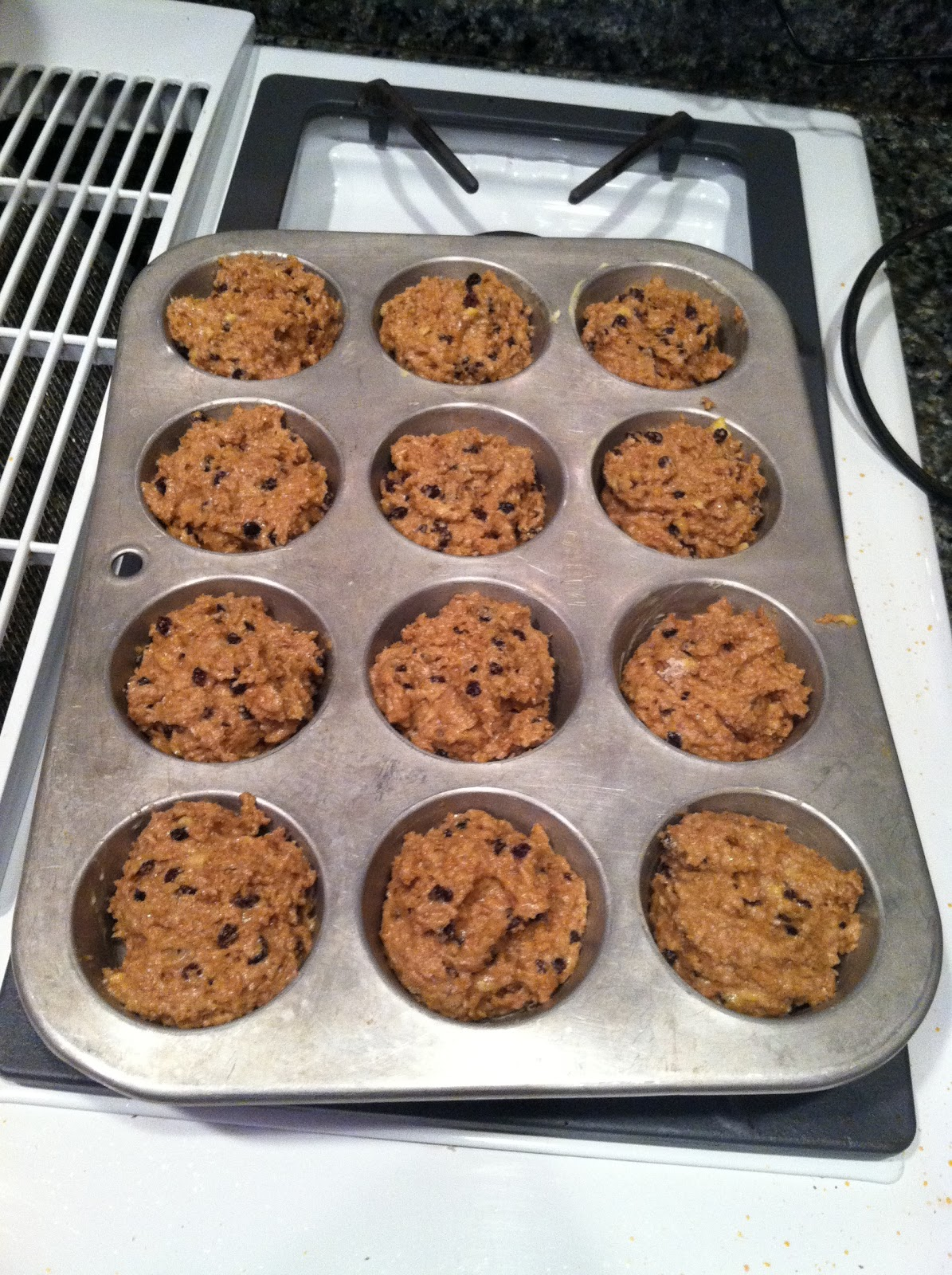 how to make banana bran muffins