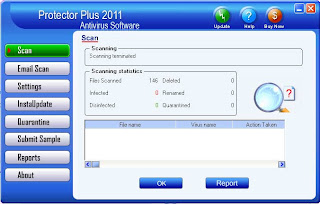 Protector Plus 2011 - Antivirus software for Windows Desktops