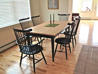windsor chairs, Waltham Chairs by Timothy Clark of Waltham Vermont