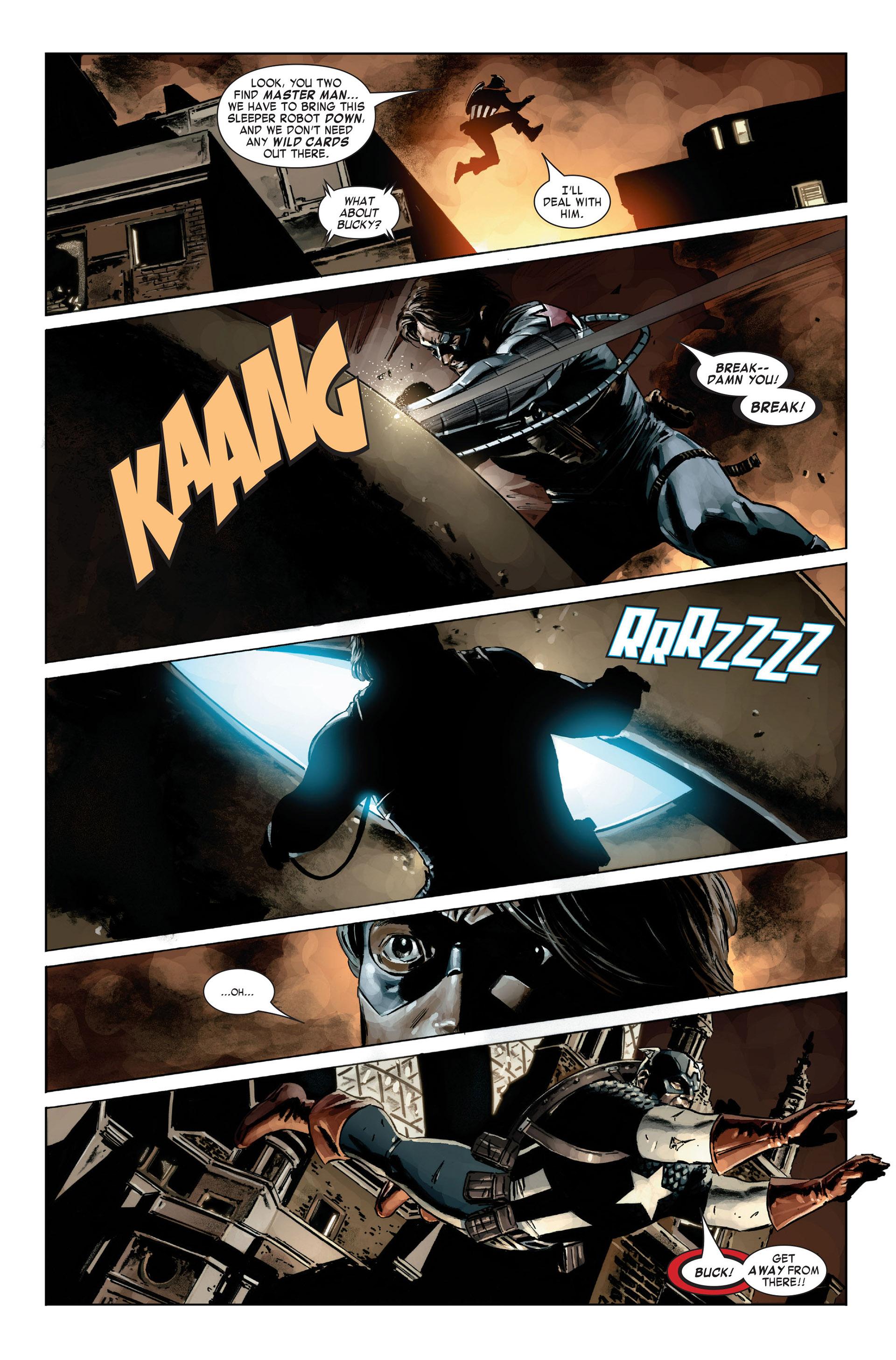 Captain America (2005) Issue #21 #21 - English 8