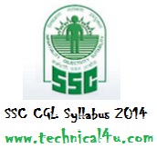 SSC CGL Syllabus 2014 , CGL Exam Pattern | CGL Tier I & Tier II Exam details