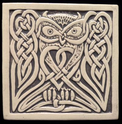 Awesome 12X12 Tiles For Kitchen Backsplash Tiny 12X24 Ceiling Tile Regular 12X24 Ceramic Tile 24 Inch Ceramic Tile Old 24 X 48 Ceiling Tiles Bright3X6 Subway Tile Backsplash Decorative Handmade Ceramic Tile: Handmade Relief Carved Celtic ..