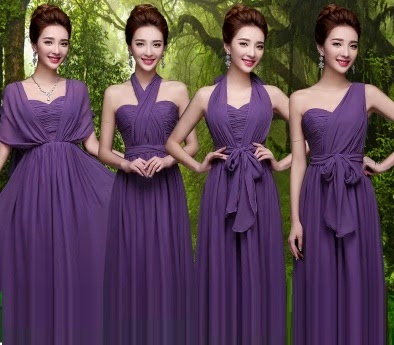 One-Dress-Multiple-Designs Bridesmaid Maxi