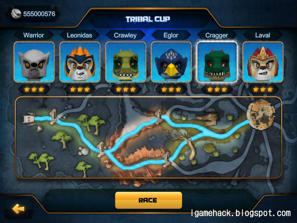 LEGO Legends of Chima: Speedorz v1.1  igamehack.com