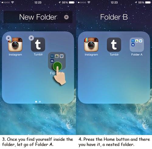Cara Menyembunyikan Aplikasi Dan Folder Pada iOS7