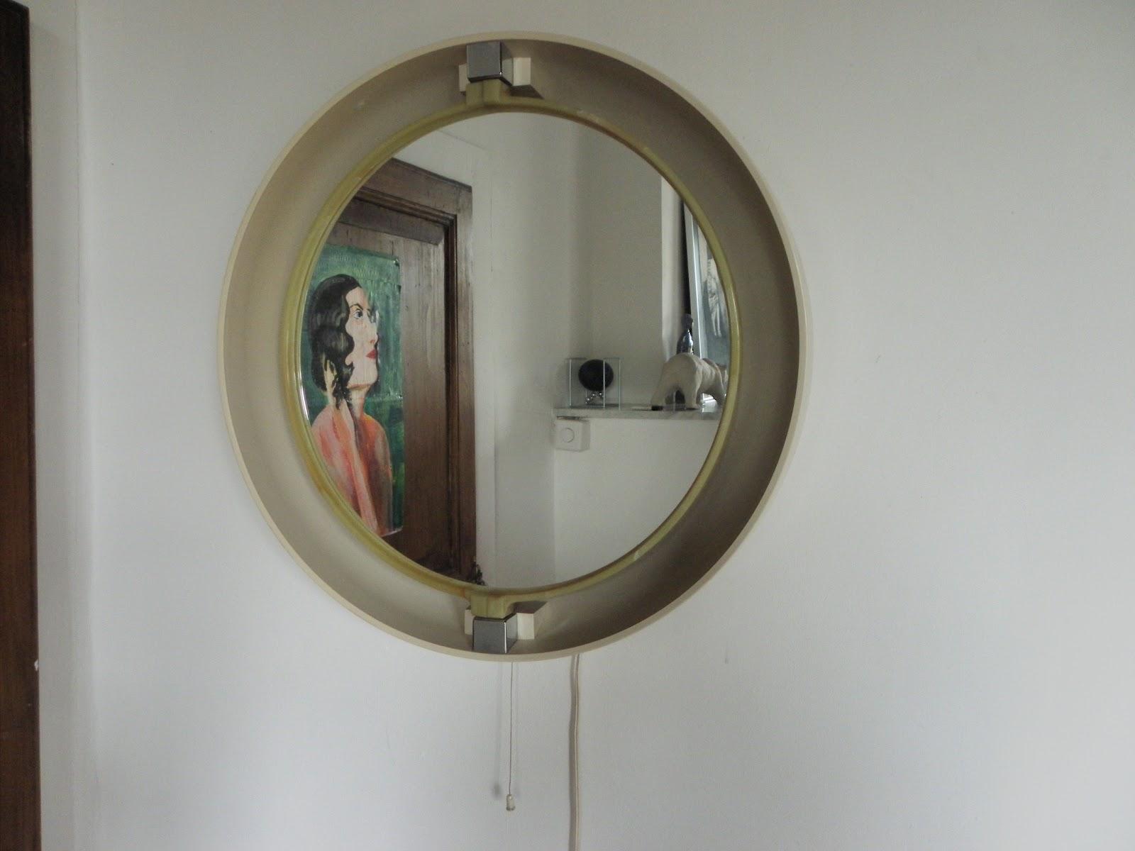 Lucie la chineuse miroir allibert ann e 70 for Miroir annee 70