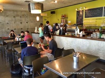 Babette cafe at Berkeley Art Museum in Berkeley, California