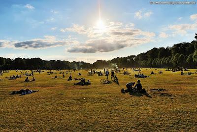 Stadtpark Hamburg Sommer Stadtparkwiese