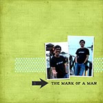 Mark of a Man photobook