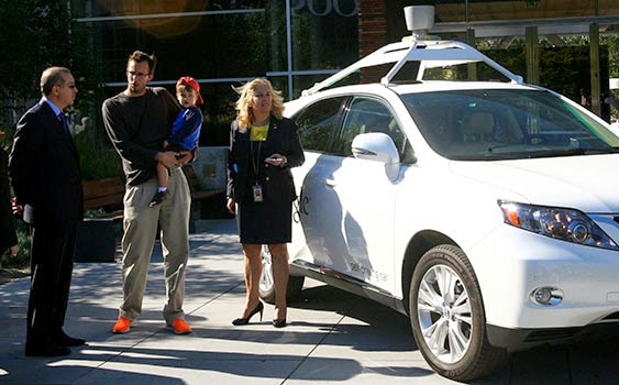 google seval öz insansız otomobil