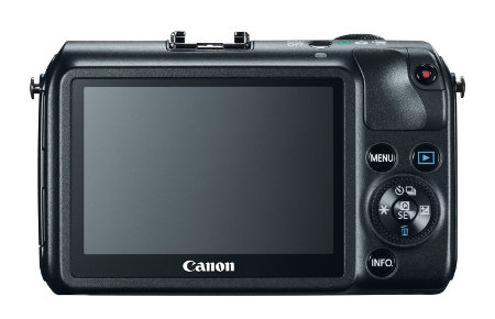 Canon EOS M 3-Inch LCD Display