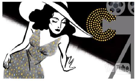 هيدي لامار يحتفل بها جوجل اليوم بالذكرى الـ101 لميلاد هيدي لامار - Hedy Lamarr's 101st birthday
