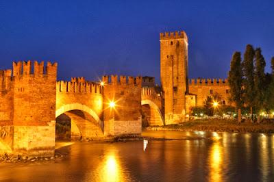 Италия. Верона.Замок Кастельвеккьо