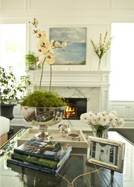 Edyta dise o decoraci n blog de decoraci n libros - Decorar una mesa de centro ...