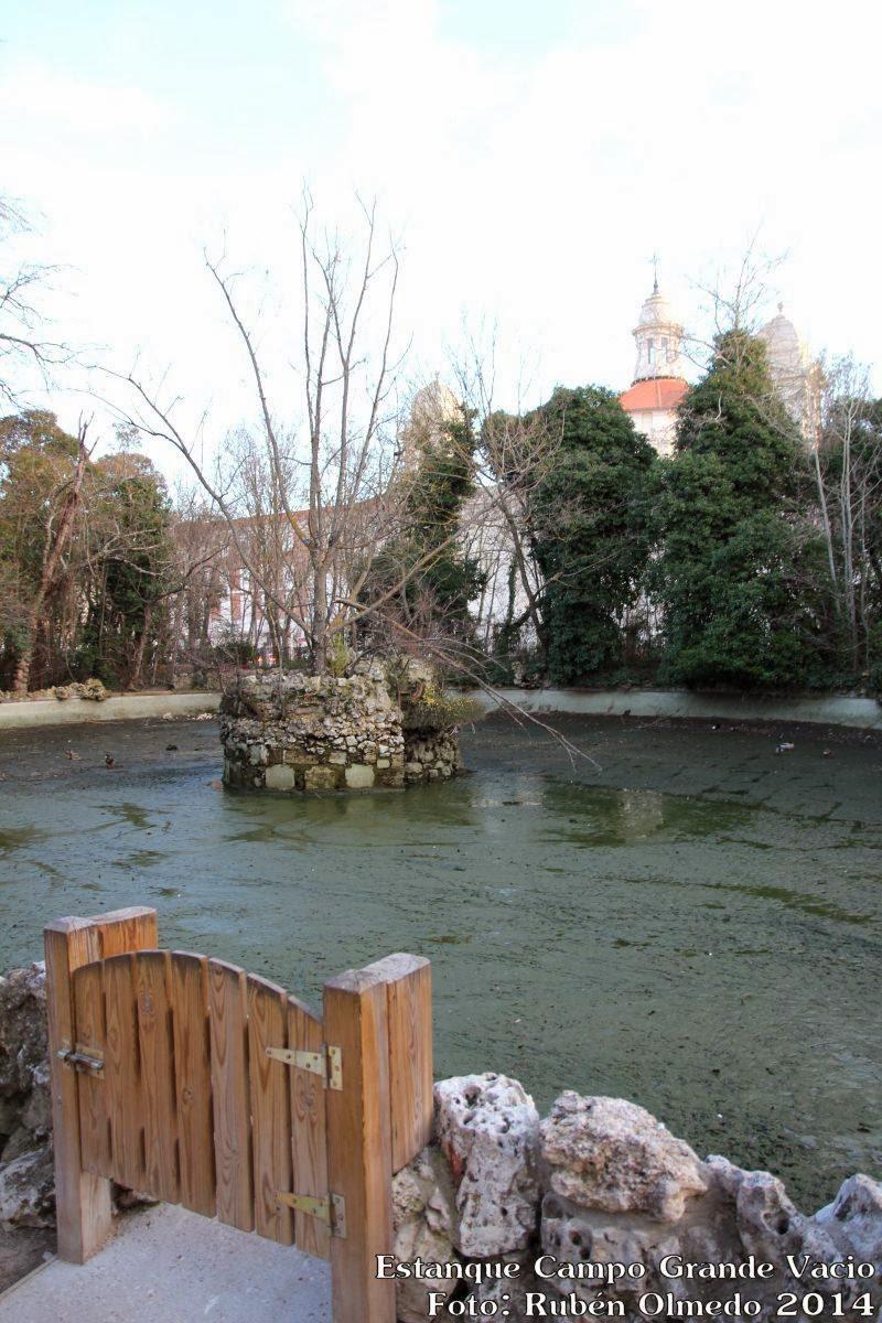 Valladolid fotoblog estanque del campo grande vacio Estanque grande