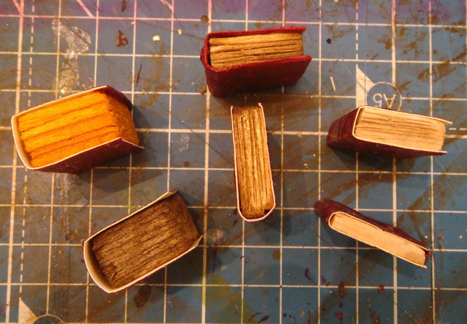 on being a mini mum making miniature books part 3