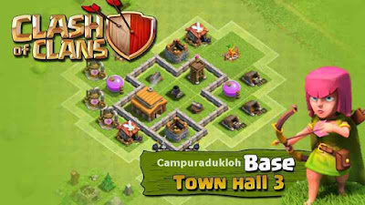 TH3 Clash of clans