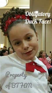 feis duck face