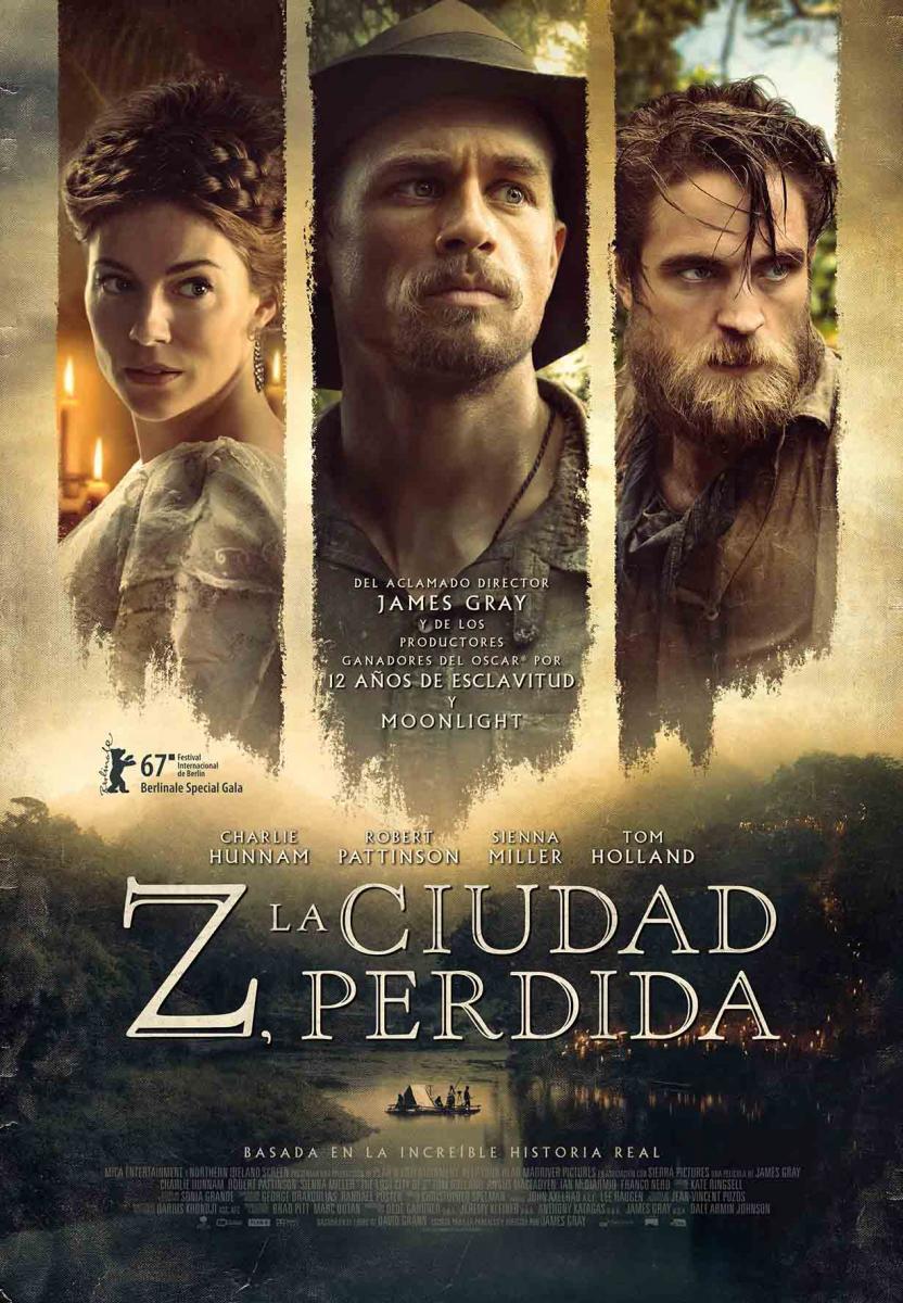 Z La Ciudad Perdida (2016) DVDRip Latino