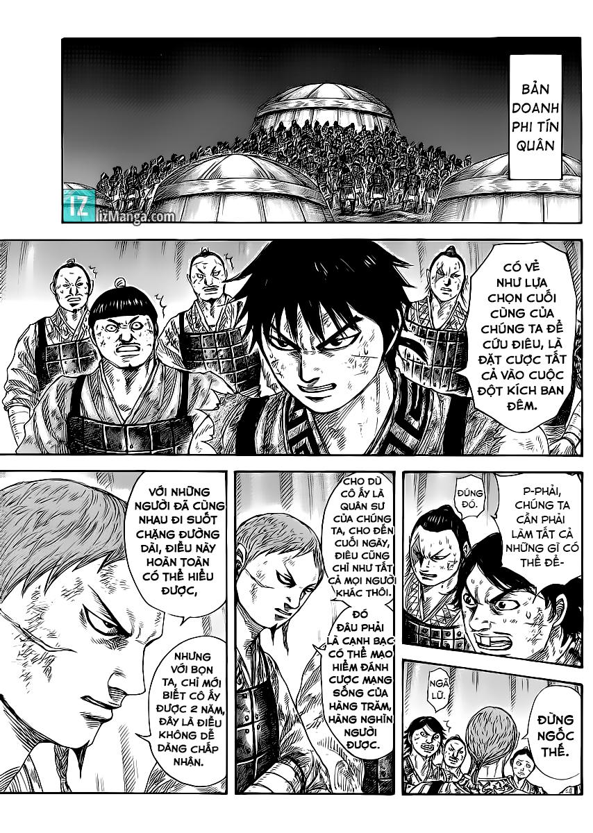 Kingdom - Vương Giả Thiên Hạ Chapter 386 page 6 - IZTruyenTranh.com