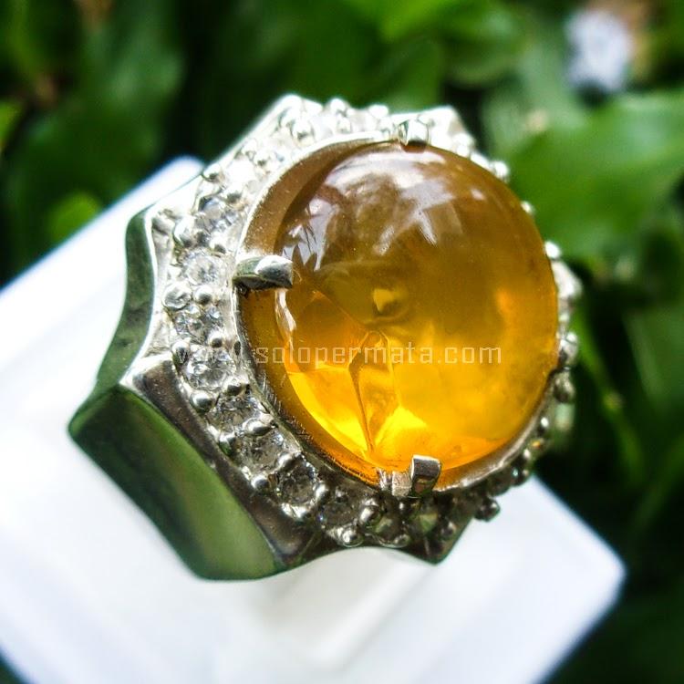 Cincin Batu Permata Fire Opal - SP558
