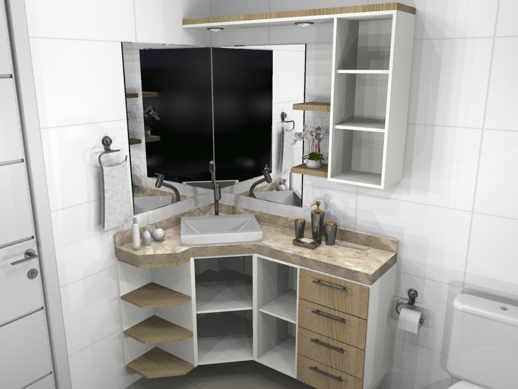 APRENDENDO A VIVER DECORAÇÃO DE BANHEIROS -> Lavatorio Banheiro Planejado