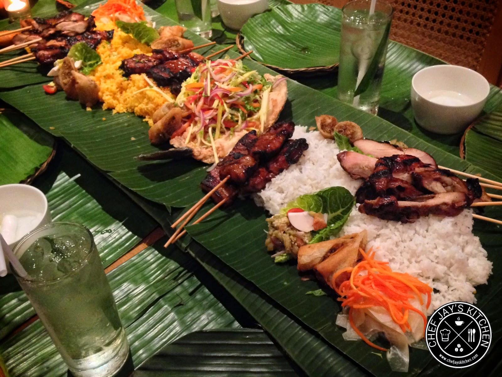 Have A Boodle Fight At Aracama Restaurant And Lounge In Bonifacio