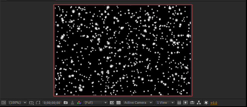 how to add snow in after effects