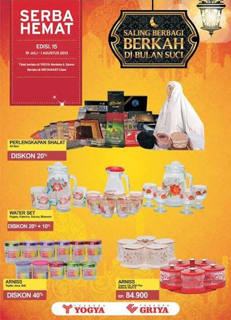 Katalog Harga dan Promo Toserba Yogya Terbaru (Serba Hemat) Periode 19 Juli – 1 Agustus 2013