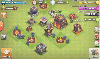 Clash Of Clans Mod FHx v6 Private Server Indonesia Update 2015
