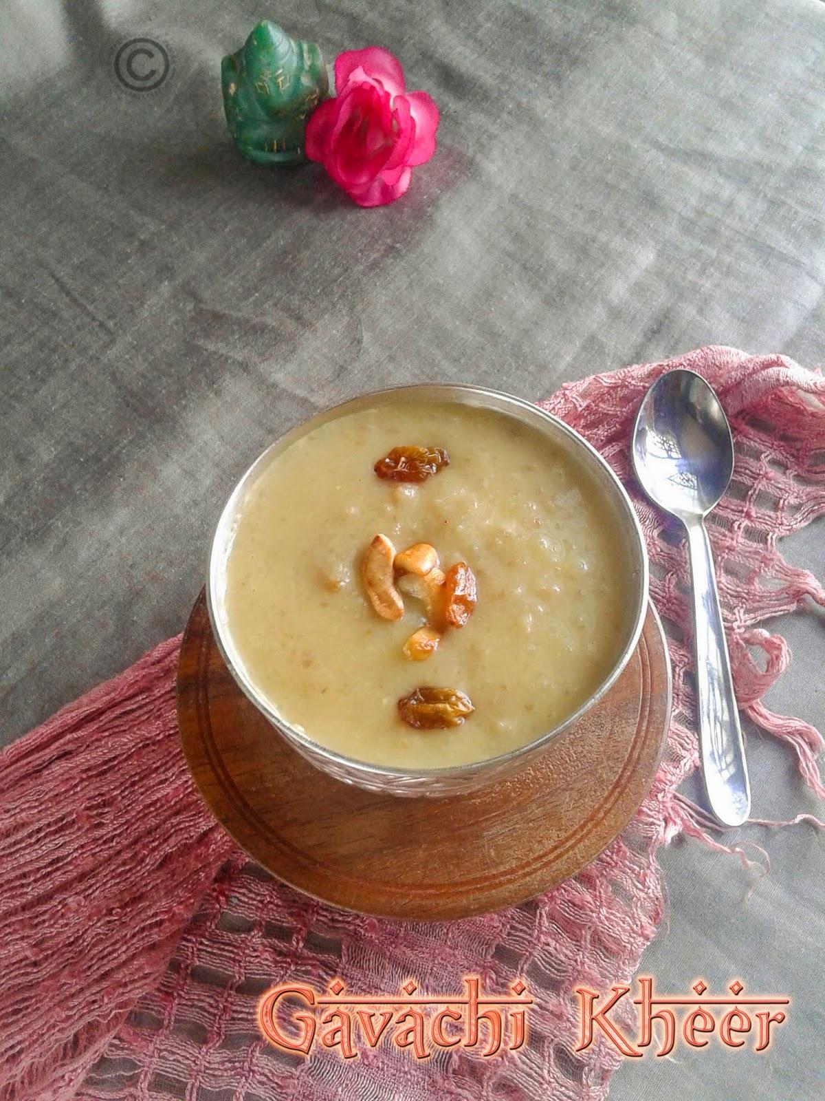 recipe: gavachi kheer recipe [33]
