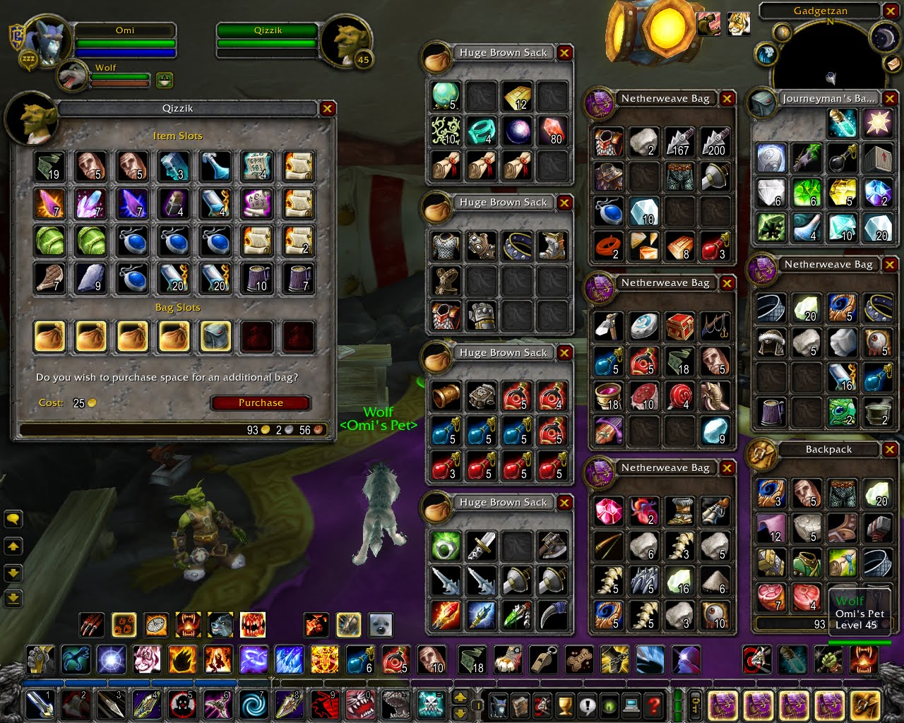 world of warcraft inventory storage screenshot the best games ever