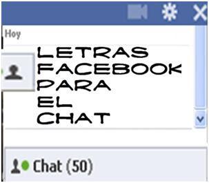 letras de chat:
