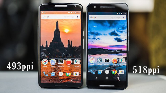 Full Comparison Of Nexus 6P Vs Nexus 6