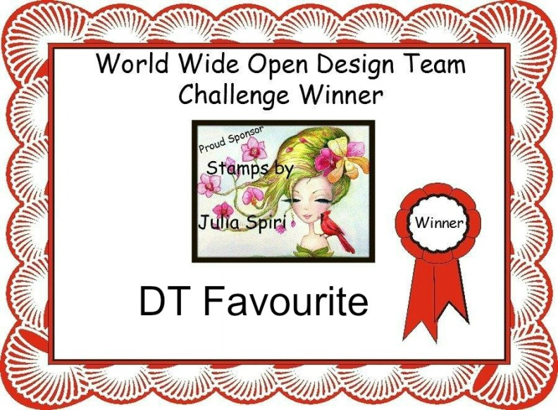 DT Favorite on World Wide Open Design Team Challenge