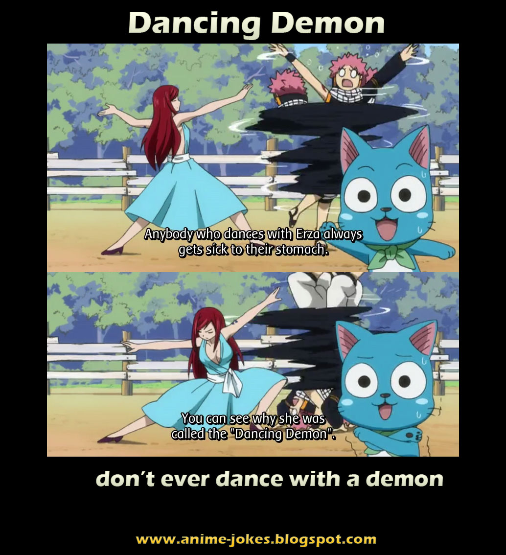 Erza The Dancing Demon