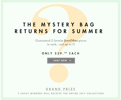 jewel mint summer mystery bag