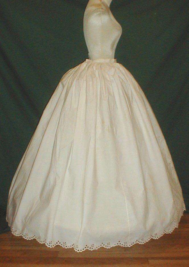 All The Pretty Dresses: American Civil War Era Petticoat